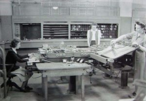 Differential Analyser in use at Moore School c 1942-45
